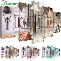 YOGOTOP DIY Diamond Painting Cross Stitch Kits Full Diamond Embroidery 5D Diamond Mosaic Home Decor Home
