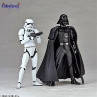 Tobyfancy Star Wars Actionfigur Stormtrooper Revoltech Darth Vader Spielzeug Sammlung Modell für Kid Star Wars Figur