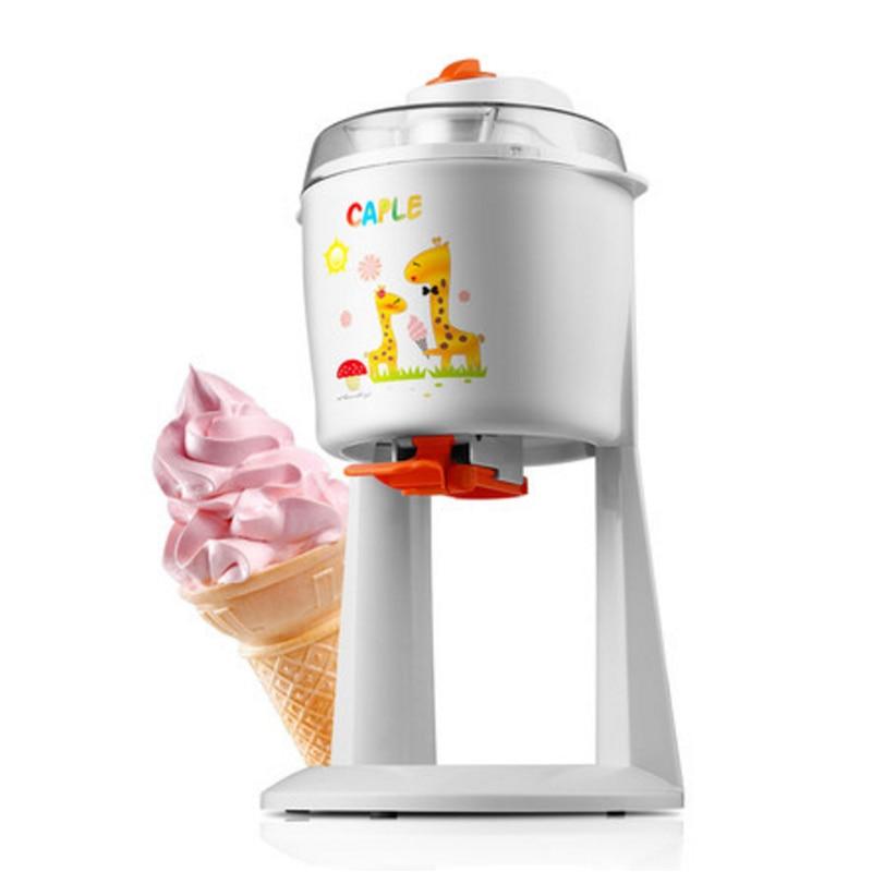 Household Ice Cream Maker Automatic Ice Cream Machine DIY Fruit Ice Cream Cone Maker