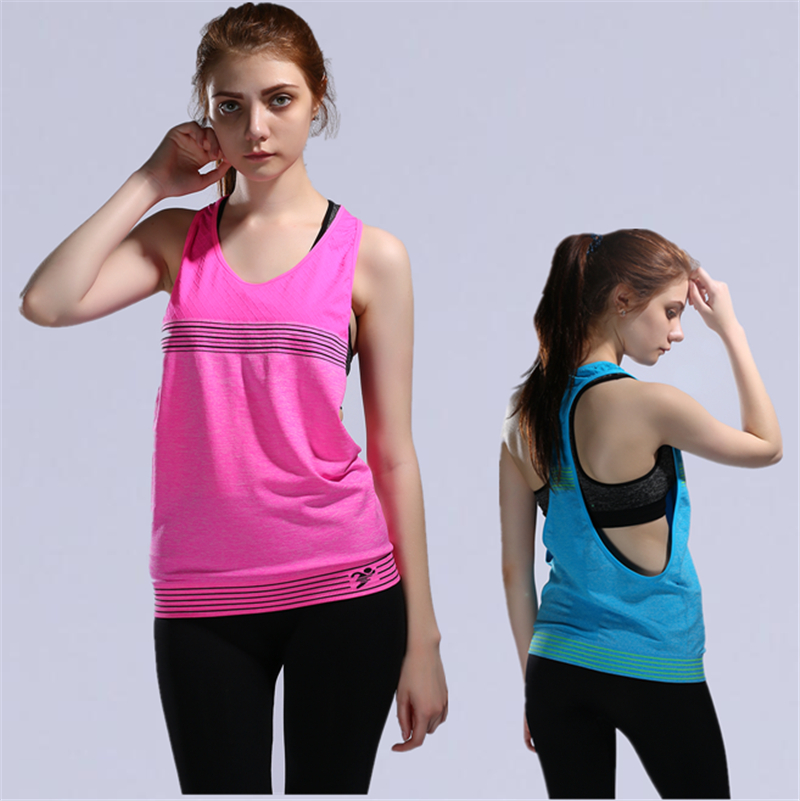 525fc1752fe Sexy Backless Women s Fitness Yoga Top Shirt Fitness Clothing Workout for  Women Anti-Sweat Gym Running Shirts Sports Tank Vest
