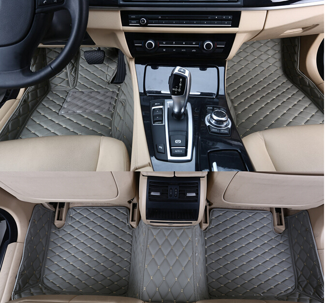 Custom Special Floor Mats For Hyundai Sonata 2014 Waterproof Non-slip Carpets For Sonata 2013-2009,free Shipping Providing Amenities For The People; Making Life Easier For The Population Ambitious Best Quality Interior Accessories