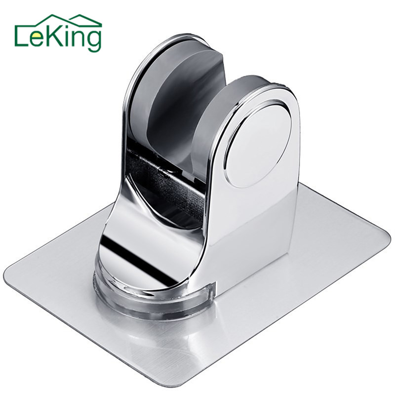 LeKing Fixing Shower Head Stand Bracket Shower Holder Shower Seat For Home Bathroom Accessories