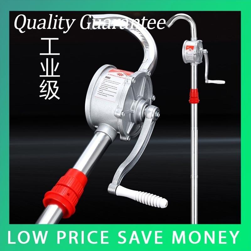 Hand Operated Oil Pumping Set Manual Aluminum Alloy Liquid Transfer Pump цена и фото