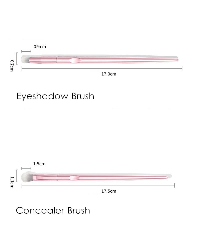 Blush Sombra Blending Highlighter maquiagem Lápis Cosméticos ferramenta
