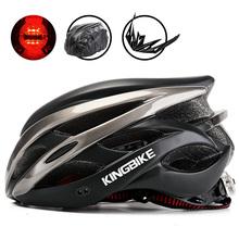 KINGBIKE kaski rowerowe kobiety mężczyźni kask rowerowy mtb rower górski rowerowa jazda na rowerze akcesoria serwisy rowerowe casco mtb hombre ciclismo casco bicicleta tanie tanio Formowane integralnie kask 237g 20 J-872A (Dorośli) kobiety KINGBIKE cycling helmets helmet bike mtb cycling helmets