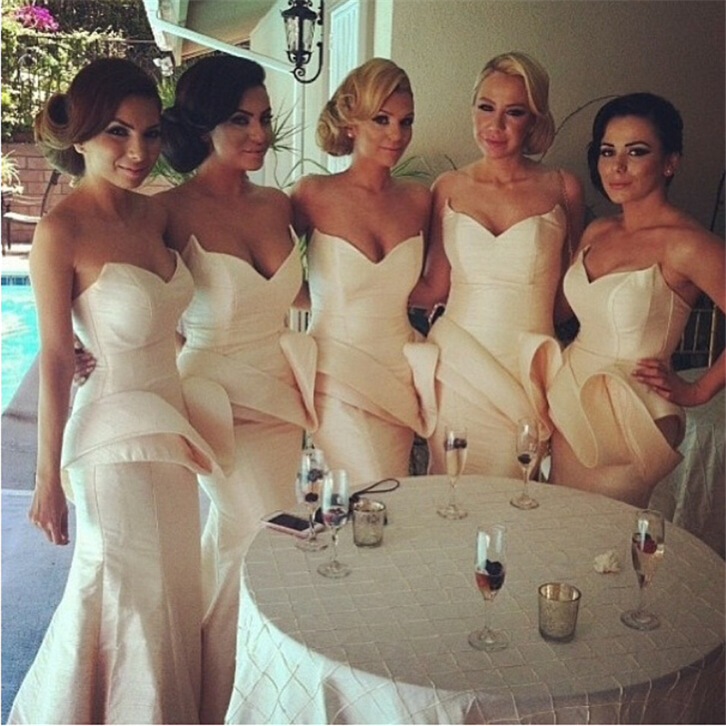 High Quality Ivory Bridesmaids Dresses-Buy Cheap Ivory Bridesmaids ...