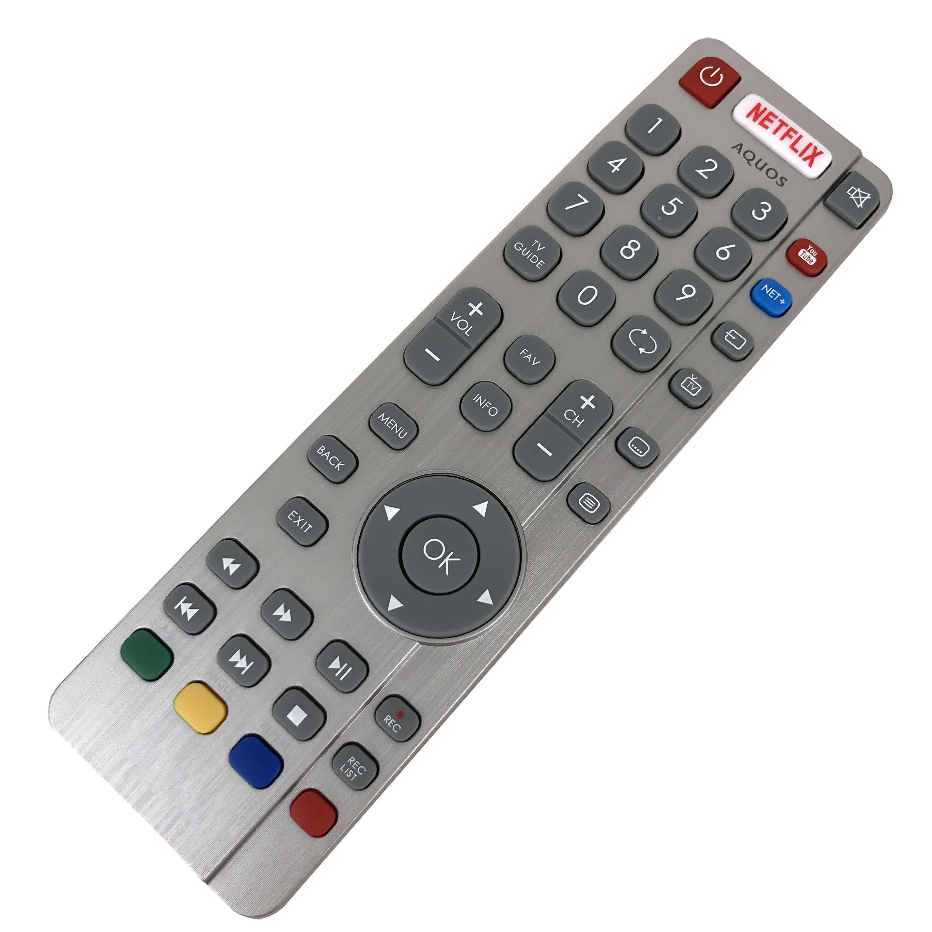 NEW Original remote control DH1903130519 For SHARP AQUOS 4K Smart LED TV LC 49CFG6452E LC49CFG6452E 49 FHD With Youtube