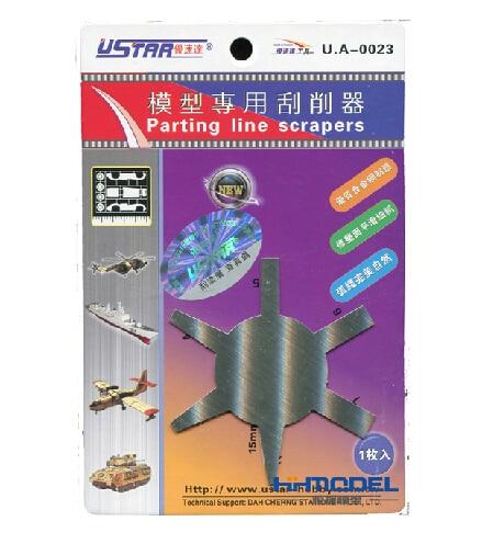 U-STAR UA-0023 Parting Line Scraper High Quality Tools for Molding