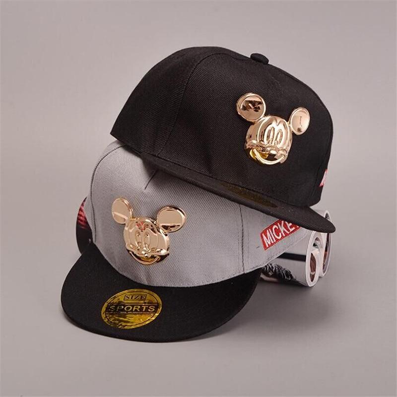 gorras 2016 baseball cap  children's baby flat brimmed hat hip-hop hat caps boys and girls snapback