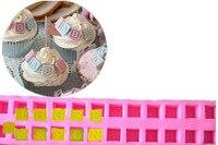 Alphabet Blocks Silicone Mold Fondant Decorating Soap Polymer Clay Cake Mold 3D Baby Alphabet Turn Sugar