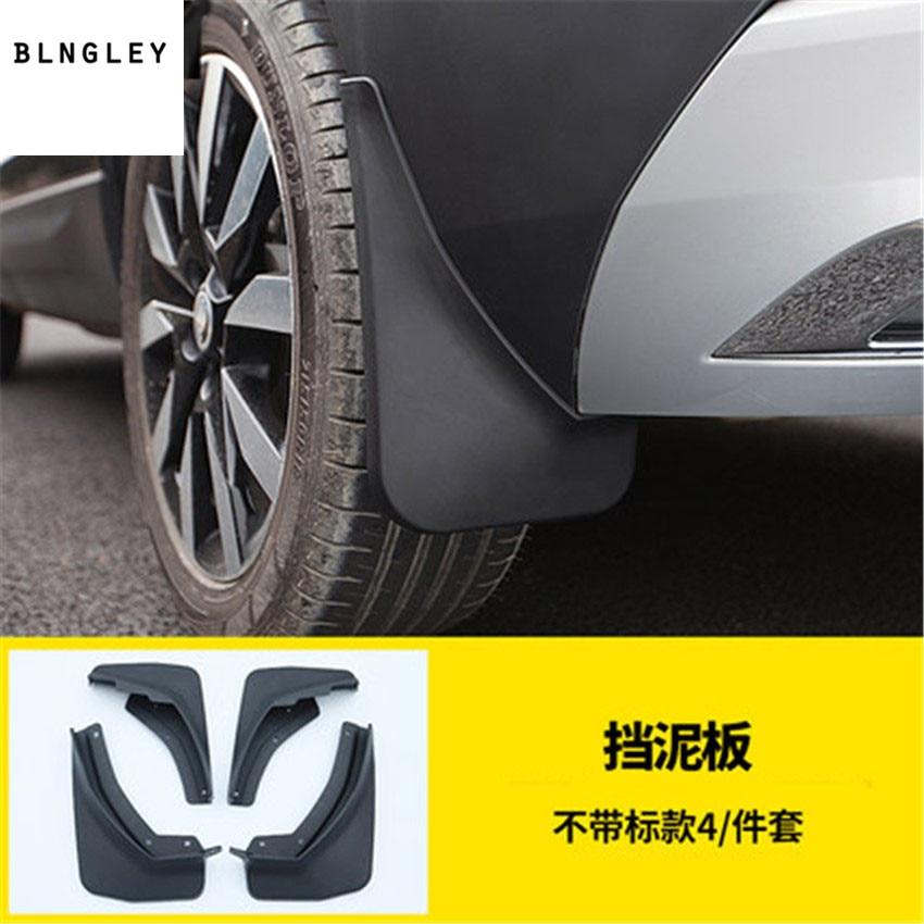 Splash Guard Car >> 4pcs Lot Car Sticker Accessories Mudguards Mud Flap Flaps Splash Guards Fender For 2018 Skoda Karoq Car Accessories