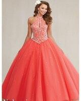 Голубое милое 16 платьев бальное платье Бальные платья 2016 г. ярко розовое Пышное Платье для 15 лет