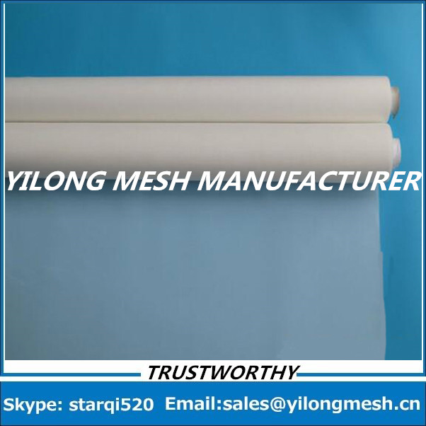 Fast Delievery And Free Shipping!! 15 Meters 100T(255 mesh)-40um-127cm White Polyester Monofilament Silk Screen Printing Mesh