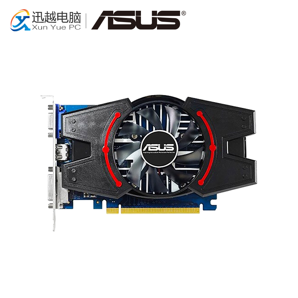 ASUS GT730-MG-2GD3-V2 Original Graphics Cards 64 Bit GT 730 2G GDDR3 Video Card VGA DVI HDMI For Nvidia Geforce GT730 ginzzu gt x770 v2 lte 8gb white