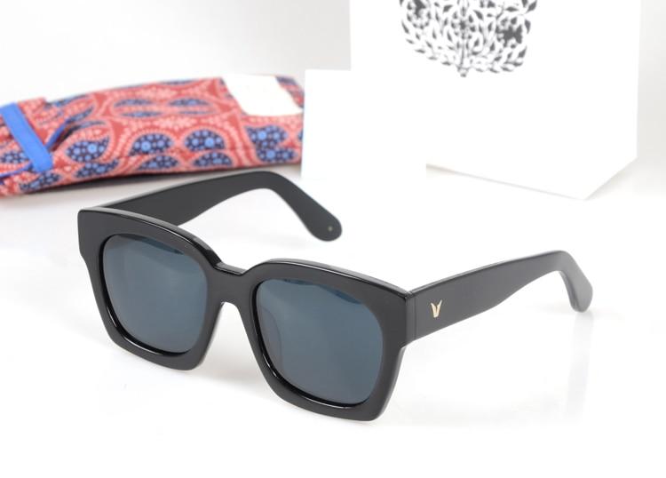 HOT 2017 Retro Zonnebril Mannen Vrouwen Merk Designer Oculos De Sol - Kledingaccessoires