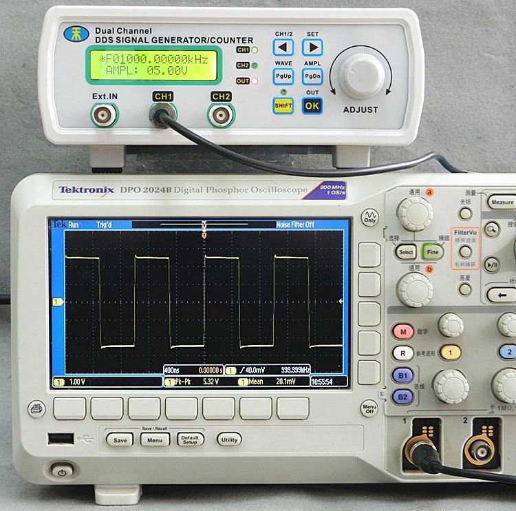 Digital Signal Generator : Mhs p digital dual channel dds signal generator