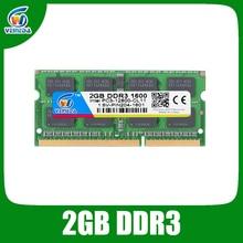 VEINEDA Memoria ddr 3 2GB sodimm ddr3 1333 ram For Intel AMD laptop ddr3 2gb Sodimm 1600Mhz 240pin