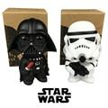 2017 2 unids/lote 10 CM Q Estilo de Star Wars Darth Vader y STORM TROOPER starwars Figura de Acción de Modelo Juguetes para niños regalo de cumpleaños