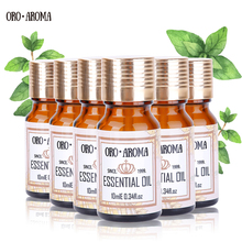 Famous brand oroaroma Rose Citrus Peppermint Citronella Frankincense Musk Essential Oils Pack For Aromatherapy Spa Bath 10ml*6 famous brand oroaroma free shipping natural musk essential oil relieve the nerve balance mood aphrodisiac musk oil