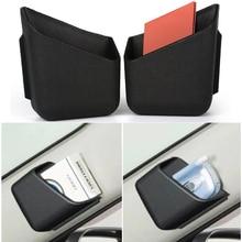 2 шт. автомобильный Органайзер авто грузовик столб коробка для хранения сигаретного телефона очки держатель карточки IC сумка-Органайзер аксессуары для стайлинга автомобилей