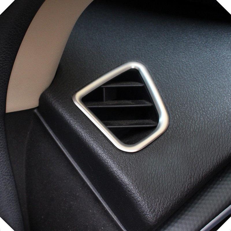 2014 2018 For Suzuki SX4 S Cross 2pcs set inner matte upper Upper Air Condition Vent