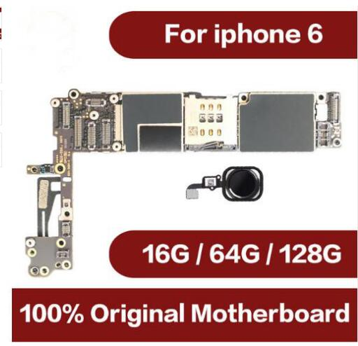 For iPhone 6 4.7inch Motherboard Unlock Mainboard With Touch ID Full Function 100% Original IOS BoardFor iPhone 6 4.7inch Motherboard Unlock Mainboard With Touch ID Full Function 100% Original IOS Board