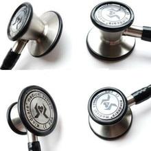 Kindcare inoxidable cardiología Stethoskop médica del Hospital Clinic estetoscopio profesional