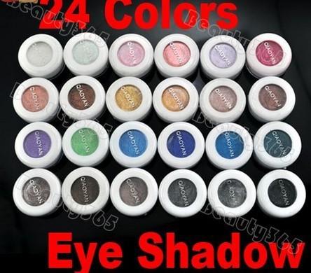 24 Colores de Sombra de Ojos Paleta de Polvo de Pigmento de Sombra de Ojos Cosméticos de Maquillaje de Belleza