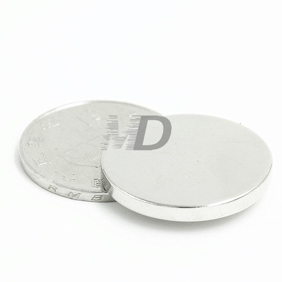Heimwerker FleißIg 100 Stücke Neodym N35 Dia 25mm X 3mm Starke Magneten Tiny Disc Ndfeb Rare Earth Für Handwerk Modelle Kühlschrank Kleben Kostenloser Versand Magnetische Materialien