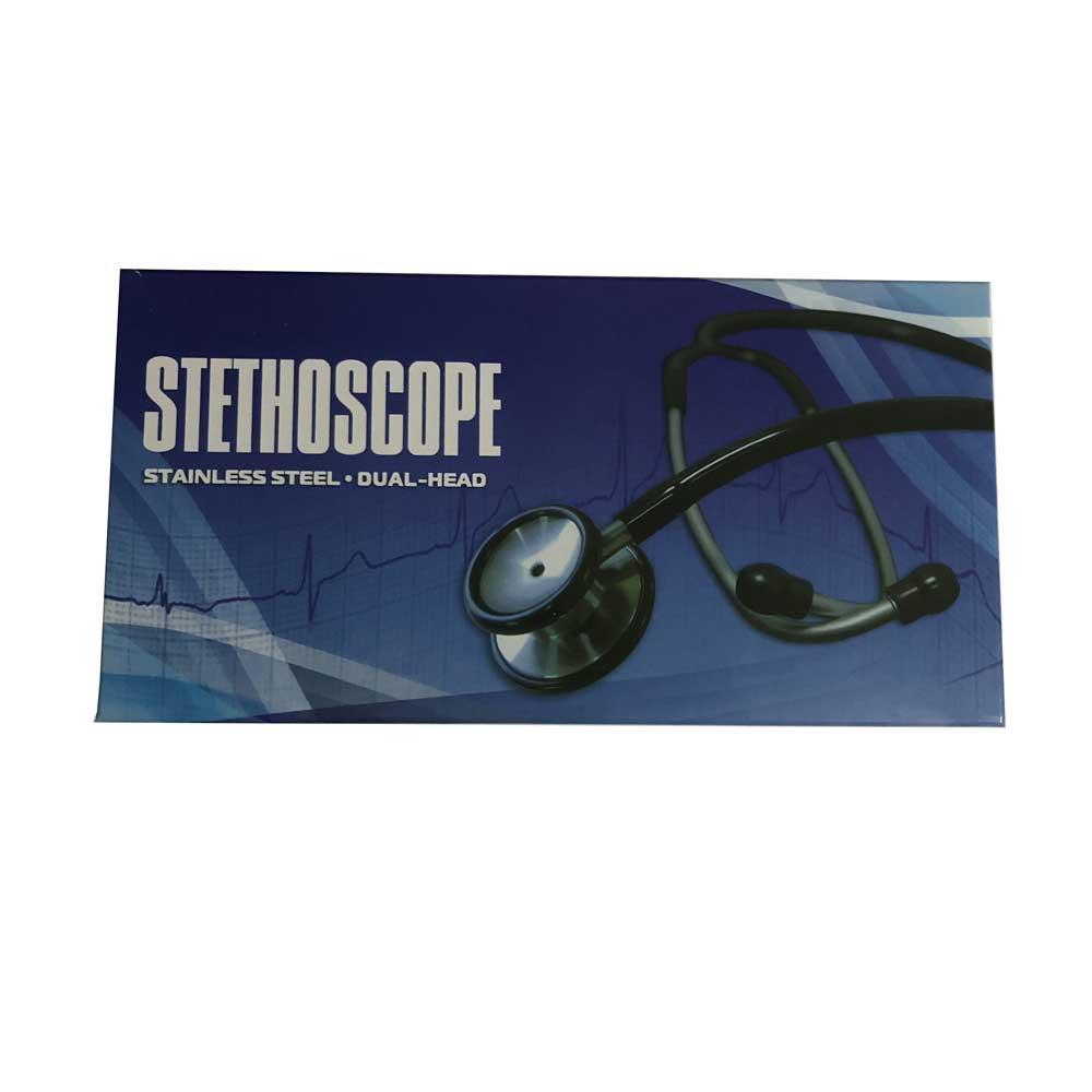 CE Professional Stainless Dual Head Cardiology Estetoscopio Cute Medical Stethoscope relanx