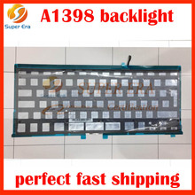 Backlight for keyboard for Apple for MacBook Pro for Retina 15 A1398, for 2013-Mid 2015, UK layout Finnish Danish EU