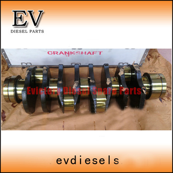 Steel crankshaft 8-98029-270-0 4HK1T 4HK1-TC 4HK1 crankshaft for Truck and Excavator