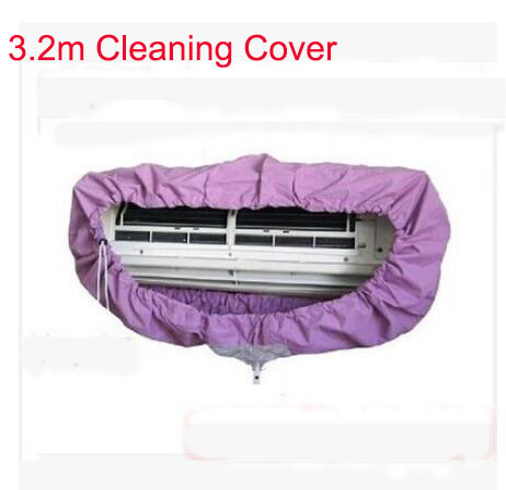 Free Shipping 3.2 meters Air conditioning cleaning cover Refrigerated cleaning tools AC cleaning cover Big size 3.2meters