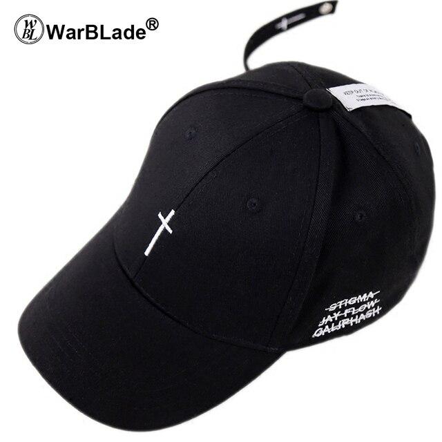 0368f6a3f0f WarBLade Baseball cap Fitted cap for men women Cross style leisure Korean  sun lovers cap all-match peaked snapback cap