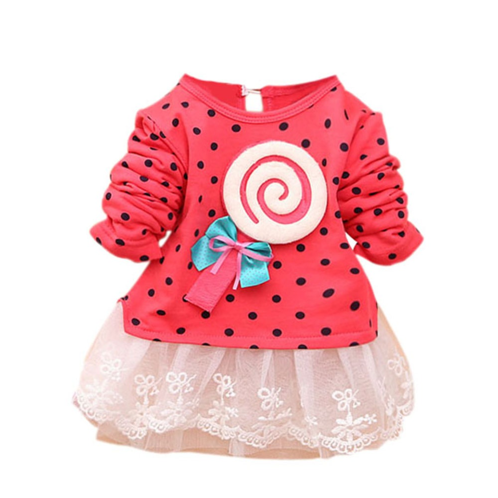 Online Get Cheap Polka Dot Infant Dresses -Aliexpress.com ...
