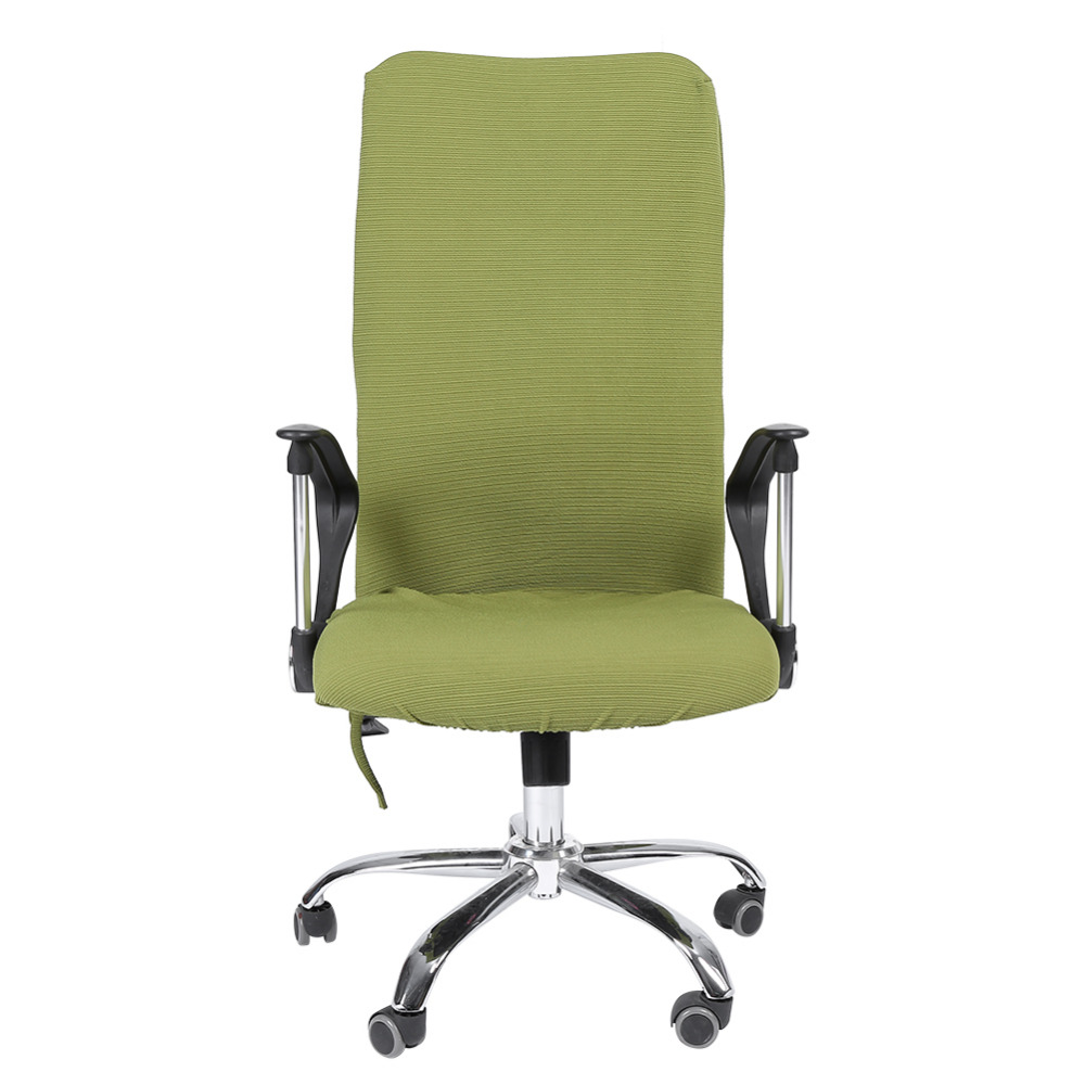 Comfortable arm chairs - Removable Stretch Swivel Computer Chair Covers Office Chair Covers Office Armchair Comfortable Seat Slipcovers China