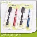 EGo Ce4 Blister Kit CE4 Atomizador 650 mah 900 mah 1100 mah Ego-T Bateria Melhor E Cigarro e Cig Starter Kit Caneta Vaporizador