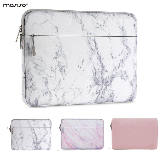 MOSISO Soft Laptop Sleeve Bag for Macbook Dell HP Asus Acer Lenovo Surface Notebook Air/Pro 11 13 13.3 14 15 inch Canvas Cover