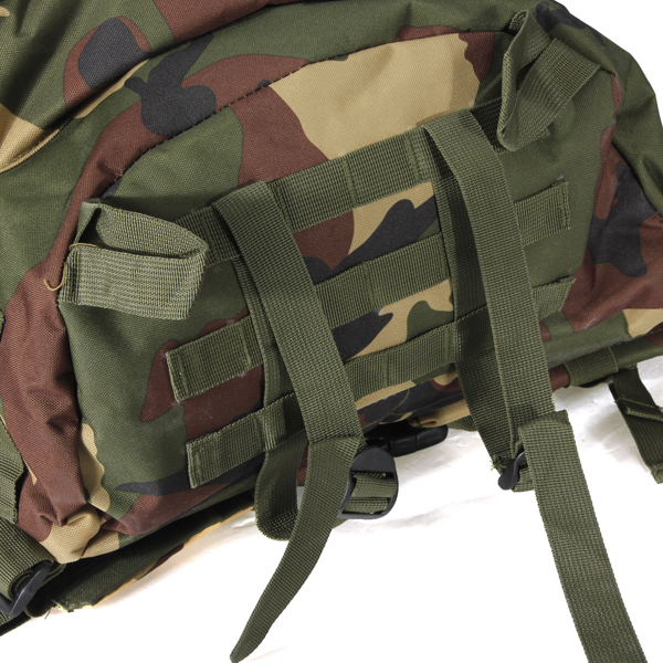 Zaino Bag Militare Trekking Campeggio Camouflage 40l Outdoor jungle TpqEBB