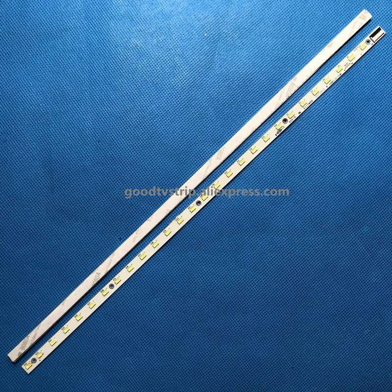 Image 2 - 2 PCS LED strip V500H1 LS5 TLEM6 TLEM4 TREM6 TREM4 E117098 28 LEDs 315mm for LE50D8800 V500HJ1 LE1,used part-in LED Bar Lights from Lights & Lighting