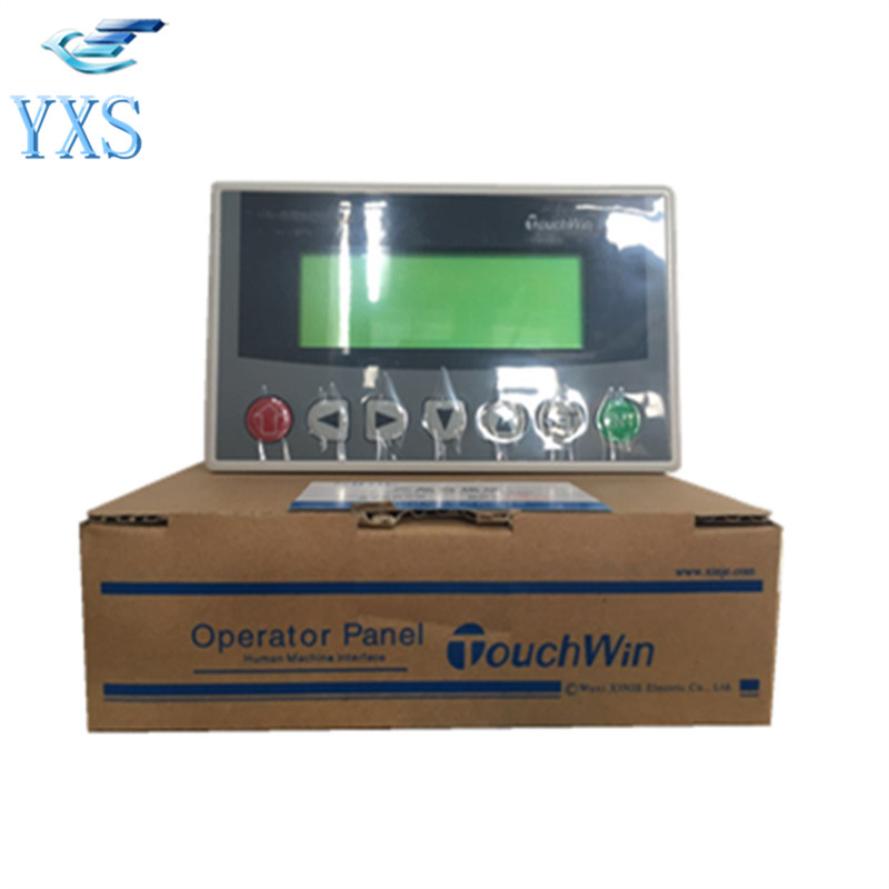 Text Display MD204L OP320-A-S OP325-A Panel Screen With RS232/RS485 for Various PLC Support Modbus Protocol 3X 4X op320 a md204l 4 3 inch text display hmi support 232 485 communication ports new offer op320 a s