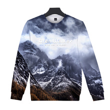 Men Women Snow Mountain Scenery Hoodie 3D Coloring Hoodies Sweatshirts Casual Tracksuits Fashion Hoodie Round Collar Pullover