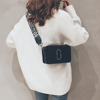 Shoulder Bag For Women Vintgae Streetwear Solid Flap Women Messenger Bags 2019 Fashion Small Bags For Women torebki damskie diy crop top