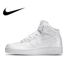 reputable site 149d9 efc32 Nike Air Force 1 AF1 hombres clásico de ocio zapatos de skate zapatos no  resistente al