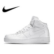 reputable site 88572 7a58d Nike Air Force 1 AF1 hombres clásico de ocio zapatos de skate zapatos no  resistente al