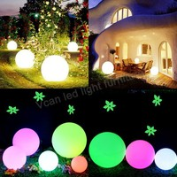 100% Водонепроницаемый открытый Беспроводной Перезаряжаемые Батарея Рождество Праздничное освещение Глобусы лампы доставки DHL Бесплатная д