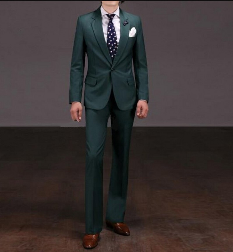 Popular Green Mens Suit-Buy Cheap Green Mens Suit lots from China