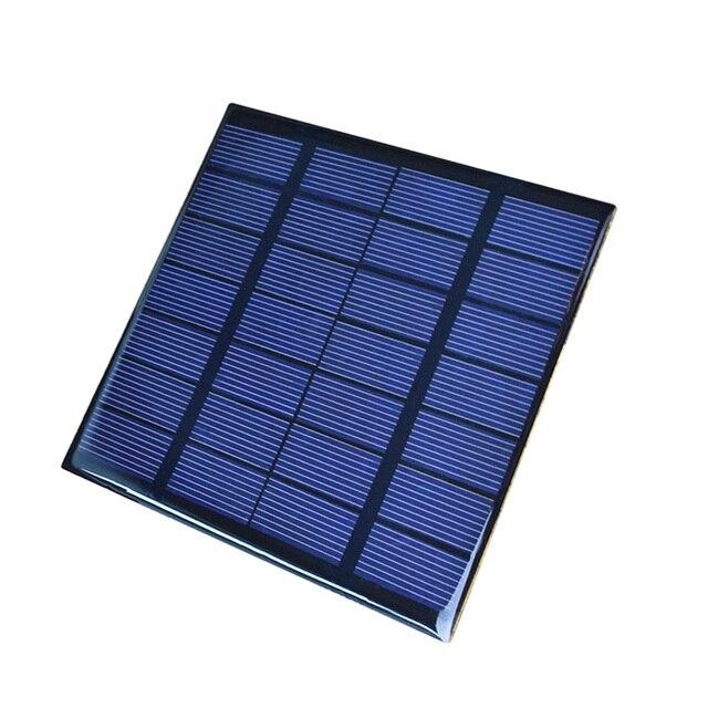 10pcs Mini Solar Panel Epoxy 7v 250ma Power For Toys