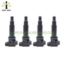 4PCS CHKK-CHKK Car Accessory Ignition Coils 9091902236 For Toyota 2001-2011 Camry Matrix Altezza Gita SXE10 3SGE 90919-02236