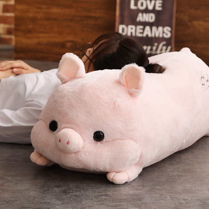 Simulation soft Pig Plush Toys For Children Kawaii Stuffed Animals dolls cute pillow Christmas birthday gift for friends girls  - buy with discount